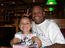 Hubby and DD on her 7th b-day