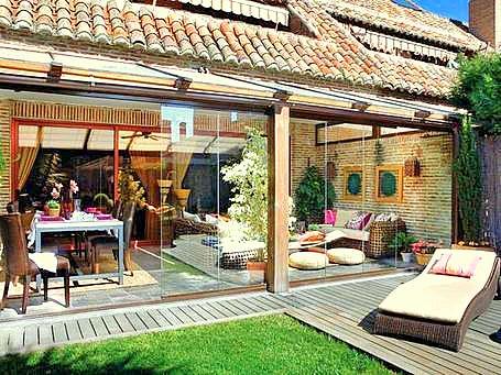 Muebles y decoraci n de interiores un porche con encanto - Muebles para porche ...