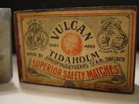 Vulcan Tidaholm Match box