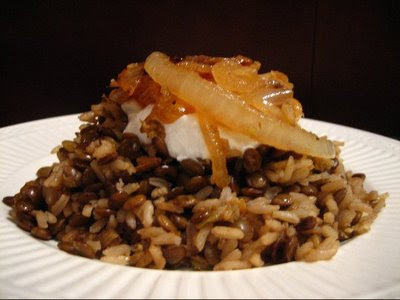 My own sweet thyme kusherie egyptian rice and lentils kusherie egyptian rice and lentils forumfinder Gallery
