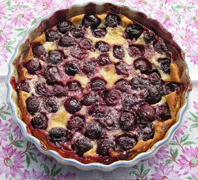 My Own Sweet Thyme: Cherry Clafouti