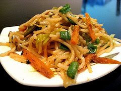 Noodles with Vegetables, Delicious Noodles