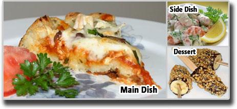 Meal Idea-Pizza salad Meal Idea
