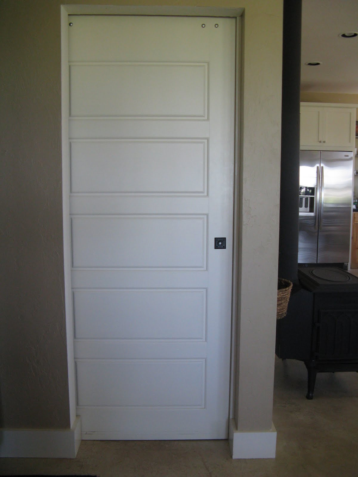 Interior barn doors for Barn door interior doors