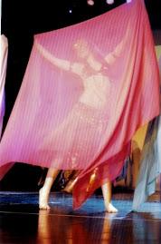 Yo bailando árabe