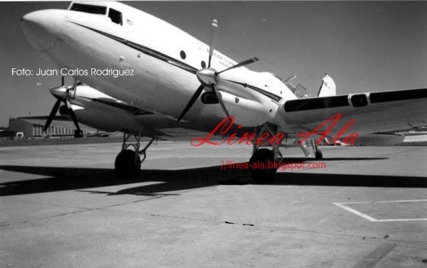"""Un """"Turbo DC-3"""" que pasó por Buenos Aires"""
