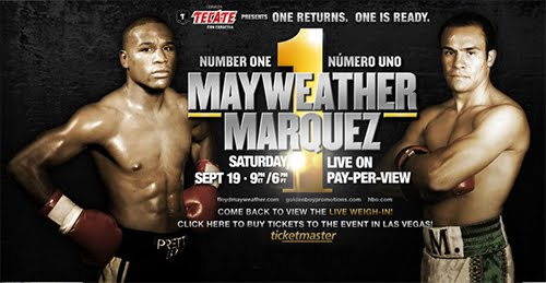 Mayweather vs Marquez Live Pay Per View Provider Schedule