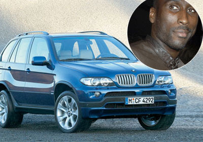 photo of Sol Campbell BMW - car