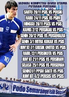 Jadwal PSIS Putaran Pertama Divisi Utama 2010/2011