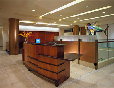 Interior Decorating For Law Offices Reception area