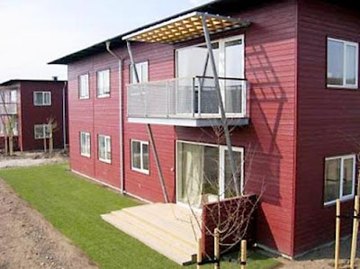 RED Scandinavian Flat Pack Houses in UK
