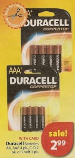 duracell CVS Deals and Scenarios 11/23 11/29