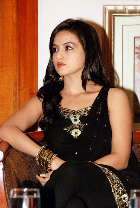 Sana Khan at Aayiram Villakku Audio Release sexy stills