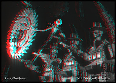 3D glasses - 3D illusion: Tim Burton's Nightmare Before Christmas 3D