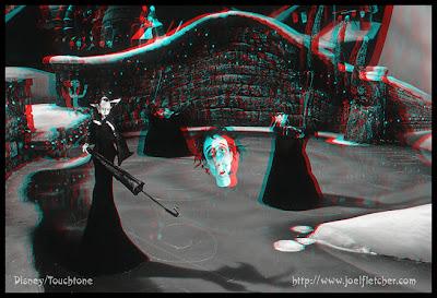 3D glasses - 3D illusion: Tim Burton's Nightmare Before Christmas 3D