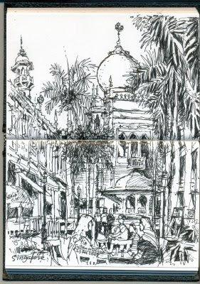 Tiastudio Sultan Mosque And Kampong Glam
