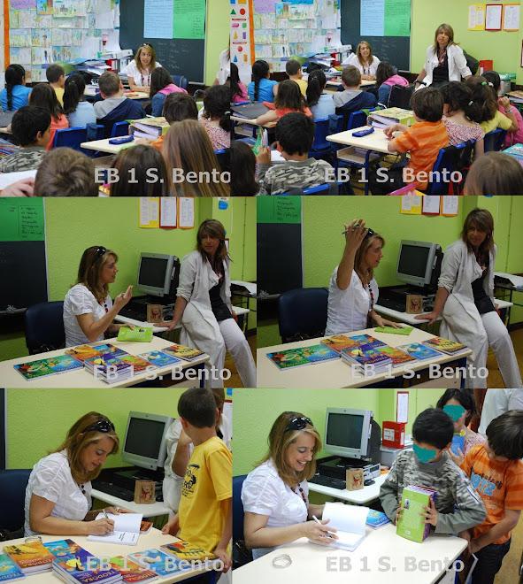 LUISA FORTES DA CUNHA NA ESCOLA DE S. BENTO EM VALEJAS