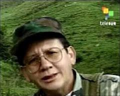Comandante Pablo Catatumbo, jefe nacional del Movimiento Bolivariano por la Nueva Colombia