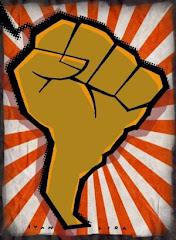 AL en lucha... dibujo de Ivan Lira en rebelión