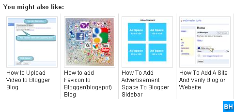 Related Posts with Thumbnails Widget