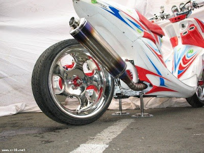 Mio drag modification 2010