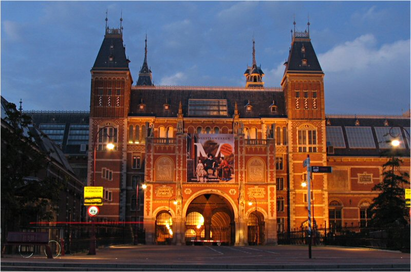 Edificio Arquitectónico . Amsterdam