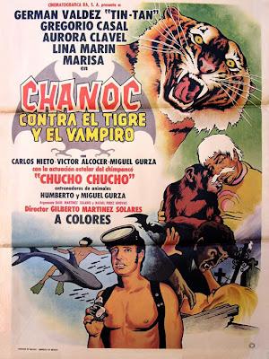 Chanoc contra el tigre y el vampiro movie