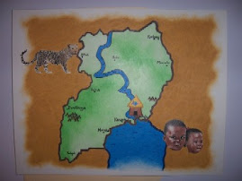 Reaching Hands Map of Uganda