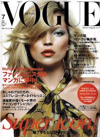 Vogue Japão Julho 2009-Kate Moss