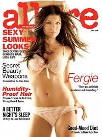 Allure Julho 2009-Fergie