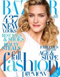 Harper's Bazaar America Agosto 2009-Kate Winslet