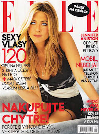Elle República Checa Agosto 2009-Jennifer Aniston