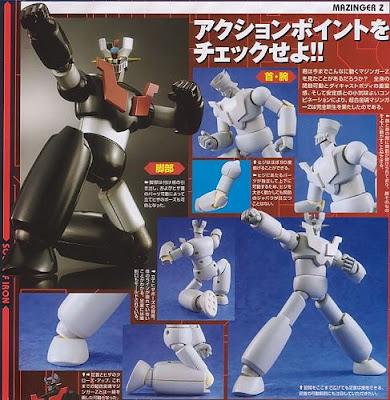 SOC New Mazinger Z figure