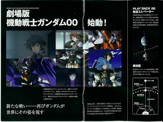 Gundam 00 Movie screen caps