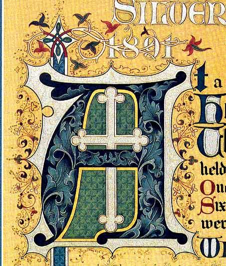 , Grade Art, Illuminated Manuscript Letters, Illuminated Letters ...