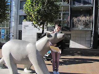 Katja and Bear