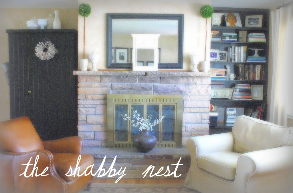 The shabby nest august 2010 for Living room jb