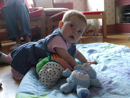 Crawling Amy at 7 months!