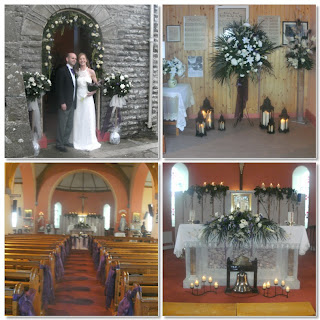 wedding at the star of the sea church quilty, county clare