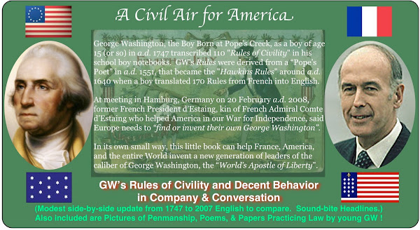 A Civil Air for America - GW's Rules of Civility