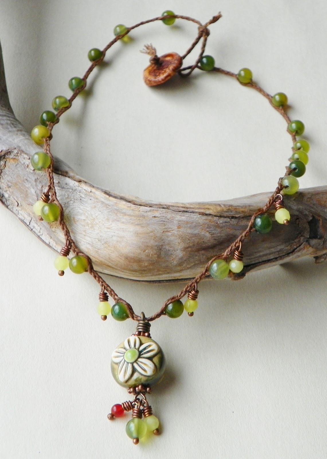 erin siegel jewelry waxed linen jewelry