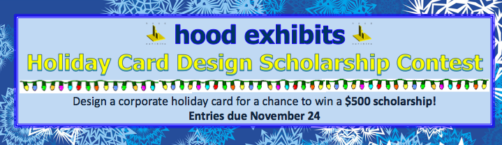 hood exhibits Holiday Card Design Scholarship