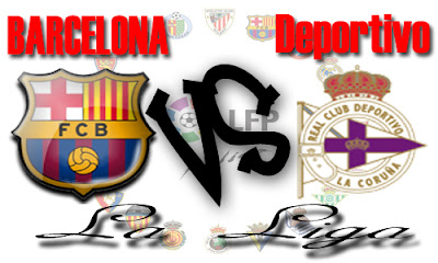 online: Watch Barcelona vs Deportivo La Coruna 8-1-2011 live stream