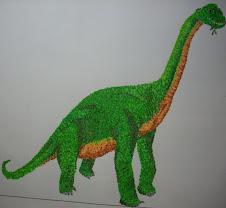 Mis dibujos - Braquiosaurio (coloreado)