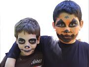 Y algunos ejemplos de maquillaje para niños: Próximamente más fotos. helloween