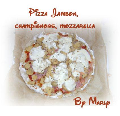 recettes  Pizza roulée