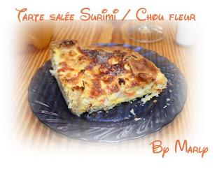 recettes entrees  Cake au surimi et ciboulette