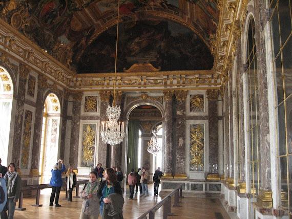Chateau de Versailles Spegelsalen