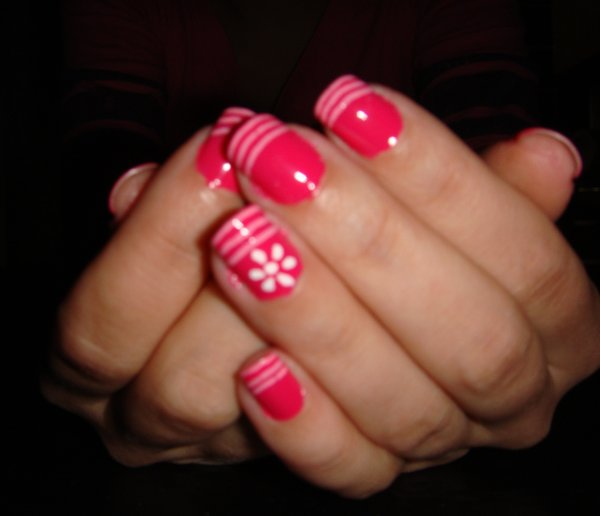 The Cool Simple pink nail art designs Digital Photography