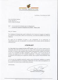 TITULO AGENTE F.I.F.A